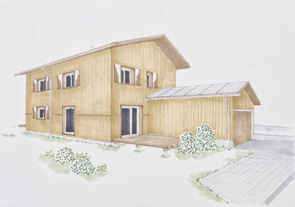 Single-Family House, Serneus | Künzli Holz AG | Immobilien