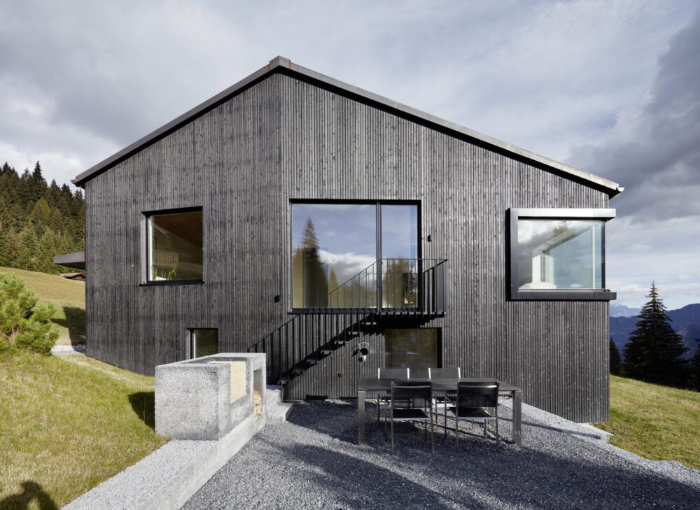 Single-Family House, Brambrüesch timber and facade construction