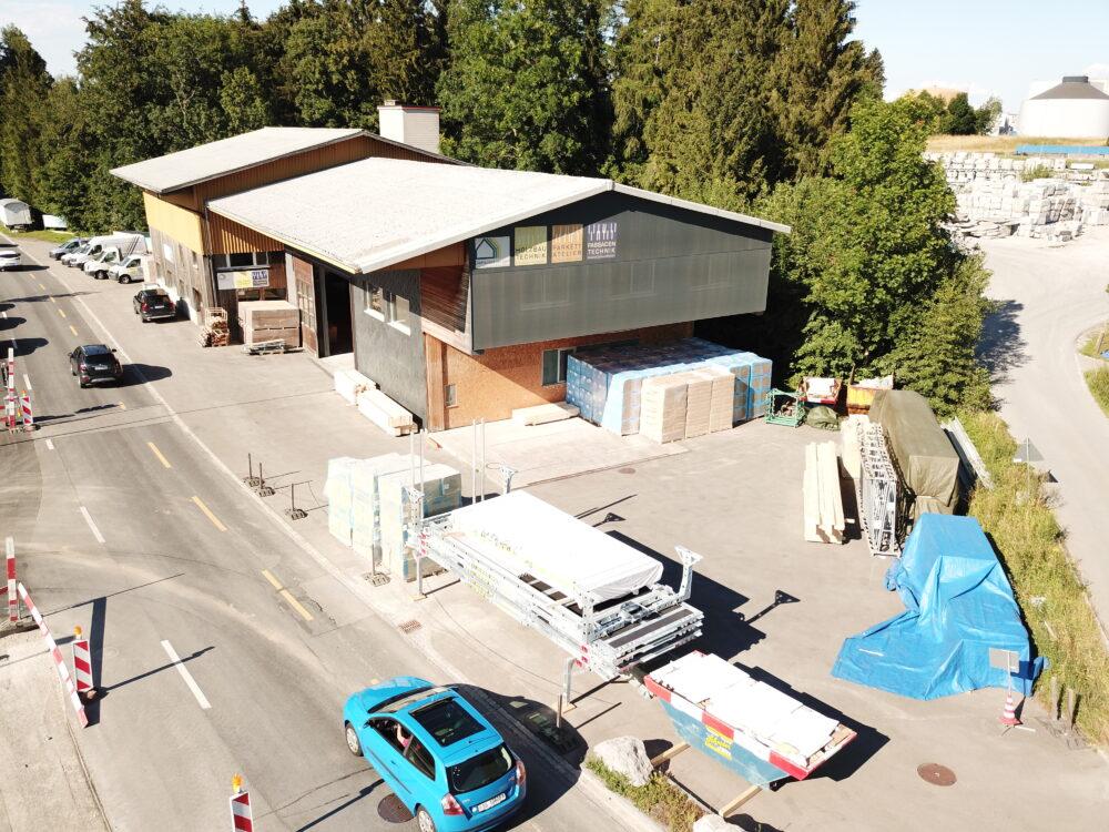 Wittenbach Innenausbau im Alpen Chic Stil