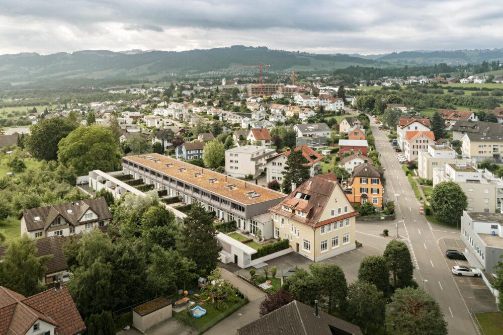 Schifflistickerei, Mörschwil, SG Holzbau und Fensterbau