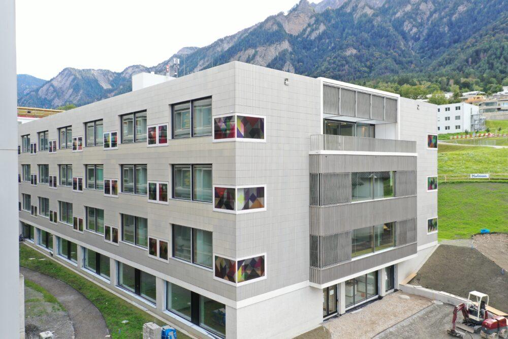 Kantonsspital Graubünden, Chur Holzbau, Fensterbau