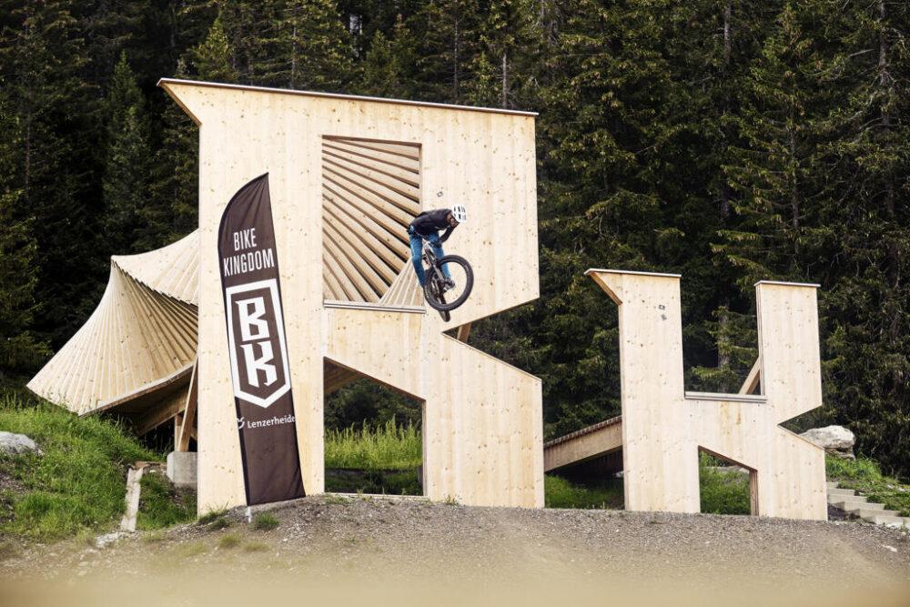 Bike Kingdom Park, Lenzerheide, Graubünden Timber Construction