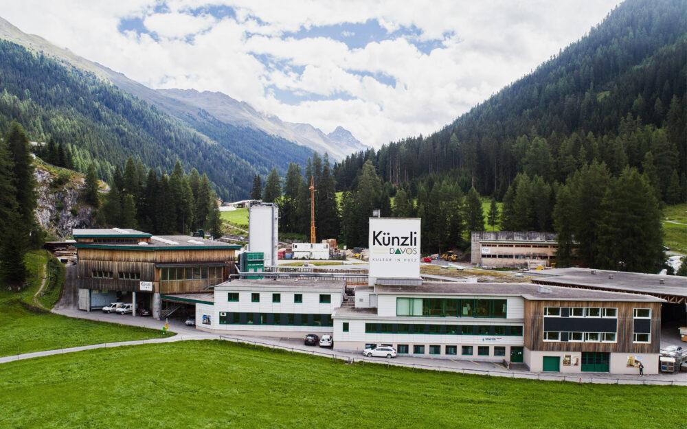 Davos Innenausbau im Alpen Chic Stil