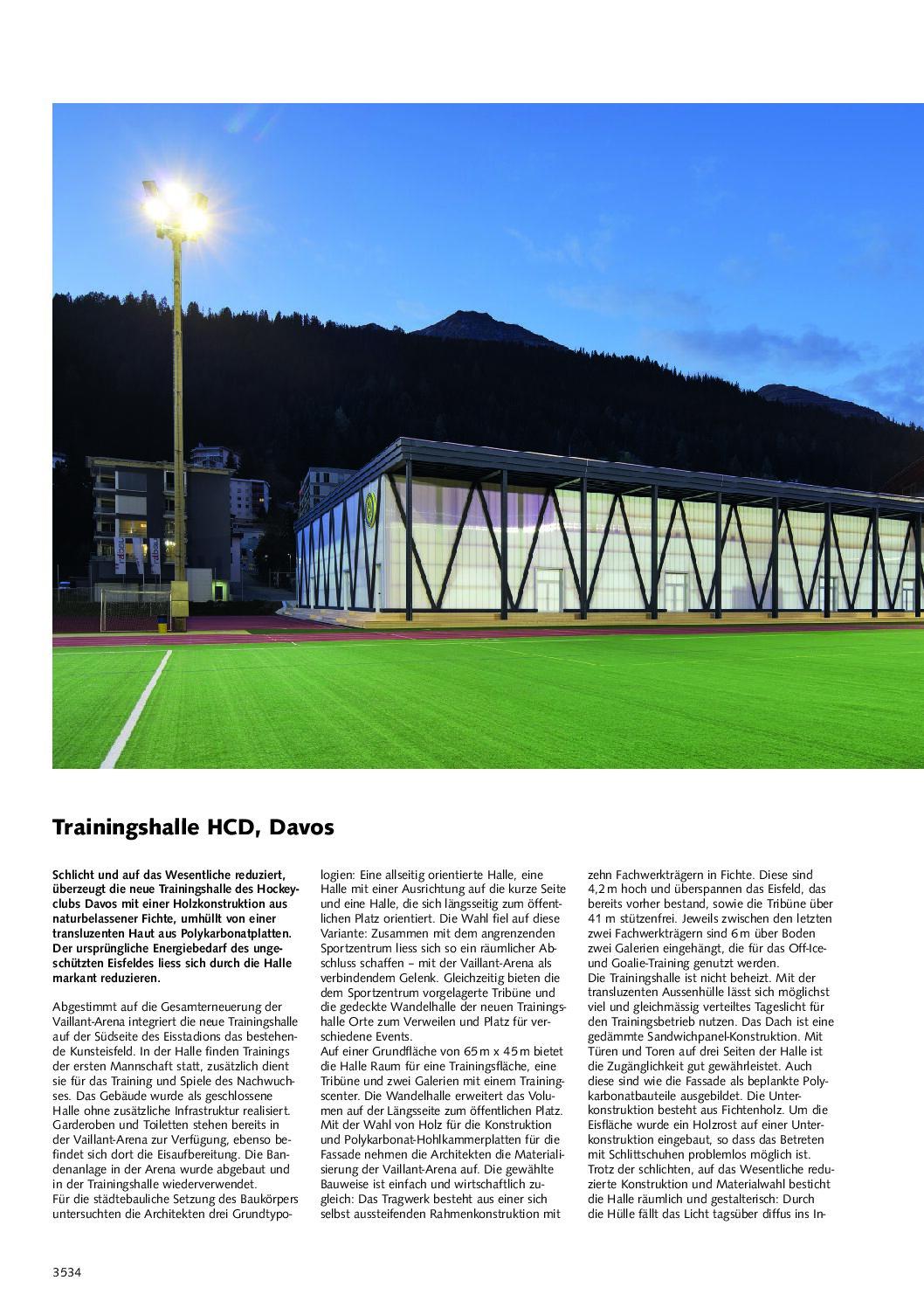 """Künzli Holz AG im """"Lignum Holzbulletin 140/2021 Sport"""""""