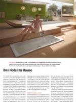 """Künzli Holz AG in der """"Schreiner Zeitung"""", Das Hotel zu Hause, Nummer 41 08/2020"""