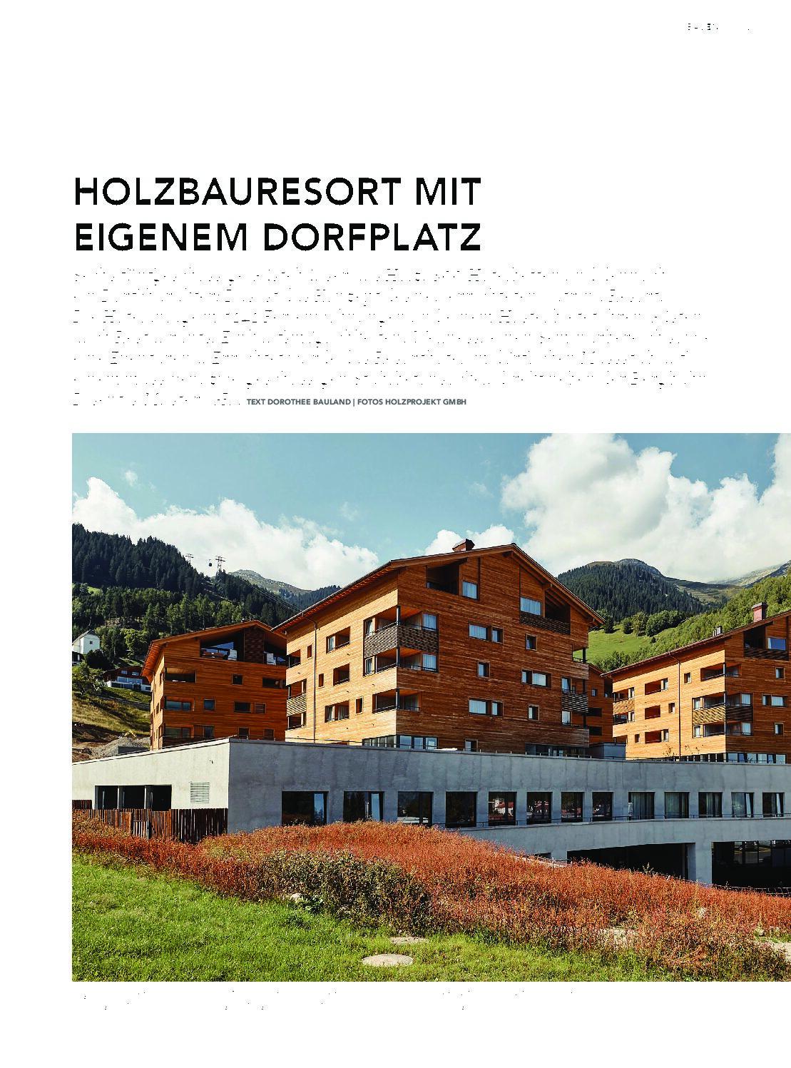 "Catrina Resort Disentis im ""Wir HOLZBAUER""  3/2020 April"