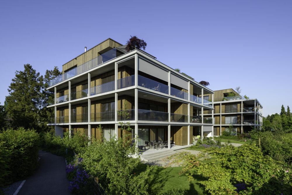 Apartment Building Bogenstrasse, Horn | Künzli Holz AG | Immobilien